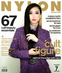 <b><p>Hot, edgy, and woman of refreshing candour, Rosalyn Lee kills it on the cover of our 7th issue on all things Cult. Our feature on 67 cult beauty essentials is for all the beauty addicts out there &#8211; you won&#8217;t want to miss these. We also curate some recent hot collaborations with cult names in fashion &#8211; Maison Martin Margiela x H&amp;M and J.W Anderson for Topshop; and beauty &#8211; James Boehmer for NARS and James Gager for M.A.C.</p>