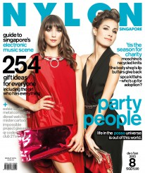 <b><p>The statuesque beauties of Posso the DJ, Marylouise Pels and Vanessa Giovacchini, look every bit like professional models on the cover of our Dec/Jan Party People issue. Trained to make people shimmy from behind the decks, they talk about their career in the DJ circuit. Alongside the feature on the electronica duo is a comprehensive guide to the electronic music scene in Singapore, spanning past to present. This issue, we also feature gift ideas for everyone, and charity ventures by The Body Shop and Moschino. It&#8217;s the season of giving, after all.</p>