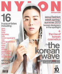 <b><p>Wow, fantastic baby! The Korean Wave is upon us, and this issue pays homage to all the things we love about South Korea. We put Tasha Low, member of multinational k-pop group SKarf on the cover &#8211; she&#8217;s one of two group members who hail from Singapore. We talk to the group about how they started out, their challenges and their dreams. Also on our radar, we have 16 other k-pop artistes including 2AM, 2NE1, B2ST, Big Bang, BoA, Brown Eyed Girls and Girl&#8217;s Generation. We put Korean designers in the spotlight for our feature on Seoul Fashion Week Spring/Summer, and review loads of Korean skincare and makeup products. And of course, our writer travels to Seoul and writes about it in our en route section. It&#8217;s all you need to know.</p>