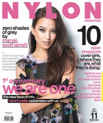 <b><p>Happy Birthday Nylon Singapore! It&#8217;s our first anniversary, and so much has happened. MTV&#8217;s newest VJ, the bubbly Hanli Hoefer, flexes her modelling chops as our gorgeous cover girl. We talk to her about the switch from modelling to being a VJ, and her new show premiering in April. We also check in with our 10 previous Nylon Singapore Cover Girls to see what they&#8217;ve been up to recently. Marvin Scott Jarrett&#8217;s fashion spread inspires us to dress only in monochrome for all the parties we&#8217;ll be attending. Come celebrate with us!</p>