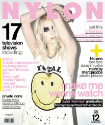 <b><p>Let us entertain you with our tv issue, as Gossip Girl alumni Taylor Momsen&#8217;s our cover girl for the month &#8211; and surprise, we learn that the frontwoman of &#8220;The Pretty Reckless&#8221; is really a kohl-lined rock chick at heart. We also nail down the fashion styles of tv&#8217;s hottest girls &#8211; be it 90201, Suits, New Girl and Gossip Girl &#8211; as well as catch up on what&#8217;s happening on Arrested Development&#8217;s much-awaited fourth season, and talk to the lads and ladies from HBO&#8217;s hit series, Game of Thrones. The spotlight&#8217;s also on the beautiful colourways of Marc Jacob&#8217;s S/S collection, Issey Miyake&#8217;s pleated garments and bao bao, plus, a behind-the-scenes look at Make Up For Ever&#8217;s HD makeup.</p> <p>&nbsp;</p>