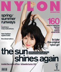 <b><p>Here we have the very first issue of Nylon Singapore, our April issue, featuring local songbird Stefanie Sun on the cover! This issue features looks fresh off the Spring/Summer runways, including the covetable Topshop x Mary Katrantzou and H&amp;M Fashion against AIDS collections, and Shu Uemura x Mamechiyo makeup looks. We talk about The Original Nylon Girl, Liv Tyler, and take you through the doors of Nylon&#8217;s SoHo office.</p>