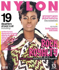 <b><p>Our second music issue sees the singer of uk indie rockers &#8220;the noisettes&#8221; on our cover, and yeah, Shingai Shoniwa&#8217;s as flawless and daring as she is on stage, what with her spunky hair and knack for pulling off bright colours. Elsewhere in the issue, we look at the daughters of rock &#8216;n&#8217; roll &#8211; Liv Tyler, Lily Collins, Lizzie Jagger and Kelly Osbourne &#8211; who, no doubt, carry the effortless cool of their parents over to their style; and pre-Fall fashion and beauty styles, along with Brit singerRita Ora as the newest face of Superga. Over at Radar, we hear about new local bands with veteran music-makers in their ranks, pose five exact questions to &#8220;I Am David Sparkle&#8221; only to be met with a myriad of interesting answers, and talk about David Bowie&#8217;s amazing exhibition at the V&amp;A in London.</p>