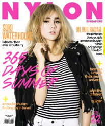 <b><p>Cover girls are usually beautiful, and model Suki Waterhouse is no exception. Clad in Burberry, the Brit It-girl&#8217;s also known for her impeccable style and multiple talents in singing and acting &#8211; and even has a photo exhibition of her own. Other than being hot for Suki, we&#8217;re also looking at the hottest summer makeup trends (coral!) and how to beat the heat in the coolest togs, plus learn howshu uemura&#8217;s makeup stylist yuji asano works dreamy drama for both day and night. A trip down memory lane&#8217;s also in order as Baby-G celebrates their 20th Anniversary, and we look back on the Tom Ford legacy just before its first store opens here; then, McCafé launches the first of six cocktail cards (and tell us how to make the perfect cuppa). So much to read about&#8230; thankfully, we&#8217;ve got the chill vibes from The Pinholes to wind down to.</p>