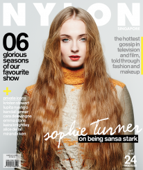 <b><p>Winter might be coming, or so they say — but we'd much rather be faced with Sophie Turner's crystalline beauty. Yes, Game of Thrones darling, pure-as-the-driven-snow (or so she might seem) Sansa Stark, is on the cover of our Entertainment issue. Sophie gives us an insider's account of life in Westeros, and defends her character — it seems like Sansa is a force to be reckoned with, and you'll have to read more to find out. This issue's also jam-packed with the hottest news on television and the silver screen, told through fashion and beauty. Last but not least, racking up the girl power are some of the best faces in entertainment right now, the likes of Lupita Nyong'O, Emma Stone, Keira Knightley and Alice Dellal.</p>