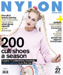 <b><p>There are rainbows, unicorns and cotton candy, and then there&#8217;s Sophia Webster. The British shoe designer dazzles on the cover of our Cult themed November issue, and she lets us in on what goes on in her imaginative head. This issue, our pages are packed with all the beauty products we can&#8217;t do without, and new collections that have caught our eye, like M.A.C. x The Rocky Horror Show, Urban Decay Naked III and the Grown Alchemist range of skincare products. In the spotlight, we have Butler &amp; Wilson at On Pedder, a quirky fashion spread with the Topshop Girls, Rita Ora for Adidas Originals, and Georgia May Jagger for Thomas Sabo.</p>