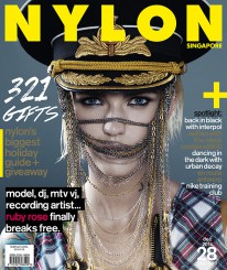 <b><p>Even if you don&#8217;t know who our cover girl is (gasp! shame on you) &#8211; you&#8217;ll be wanting to find out. Australian media personality Ruby Rose is sizzling hoton the cover of our December issue. She talks to us about gender stereotypes, the entertainment scene, her other half, and more. Tis the season for giving, and our handy, extensive holiday guide will solve all those gift-buying woes. From gadgets, quirky items, to beauty products &#8211; we&#8217;ve got you covered. This issue, we also check in on Interpol, take selfies with the NIKON Coolpix s6900, play makeup with Urban Decay, go to Antwerp, and train hard with Nike.</p>