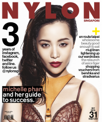 <b><p>makeup guru/goddess michelle phan is on the cover of our anniversary issue, and aptly so! the self-taught makeup virtuoso continues to teach us how to celebrate our beauty every day. we talk to the self-professed dreamer, who shows us how dreams really do come true with honest hard work and a genuine heart. also in this issue: an en route feature on taipei, a comprehensive spread on wholesome beauty products that your skin will love, and shopping vouchers from bershka and stradivarius as a treat for our readers. thank you for the support over the past 3 years!</p>