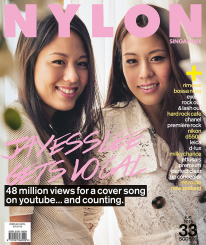 <b><p>It&#8217;s the rolling good times as twin YouTube sensations Jayesslee front our Music issue. They tell us about going viral, writing original music, and juggling careers as musicians with two toddler sons. Also in this issue: the Rimowa Bossa Nova, the guitar-shaped Eyeko Rock Out &amp; Lash Out mascara, and a feature on the &#8220;Real Middle Earth&#8221;, New Zealand.</p>
