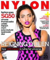 <b><p>August is the month to get patriotic, so we&#8217;ve put one of Singapore&#8217;s pride and joys: reigning Miss Singapore Universe Rathi Menon, on the cover of our Technology issue. We focus on all things digital, specifically LG&#8217;s 65-inch Art Slim Curved 4K OLED TV, accessories for the 12-inch MacBook, and high-tech trends in fashion and beauty. In the spirit of SG50, we shine the spotlight on fashion with a local twist, from Rimowa, Thomas Sabo and Uniqlo, among others.</p>