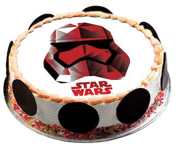 how to make star wars ice cream cake