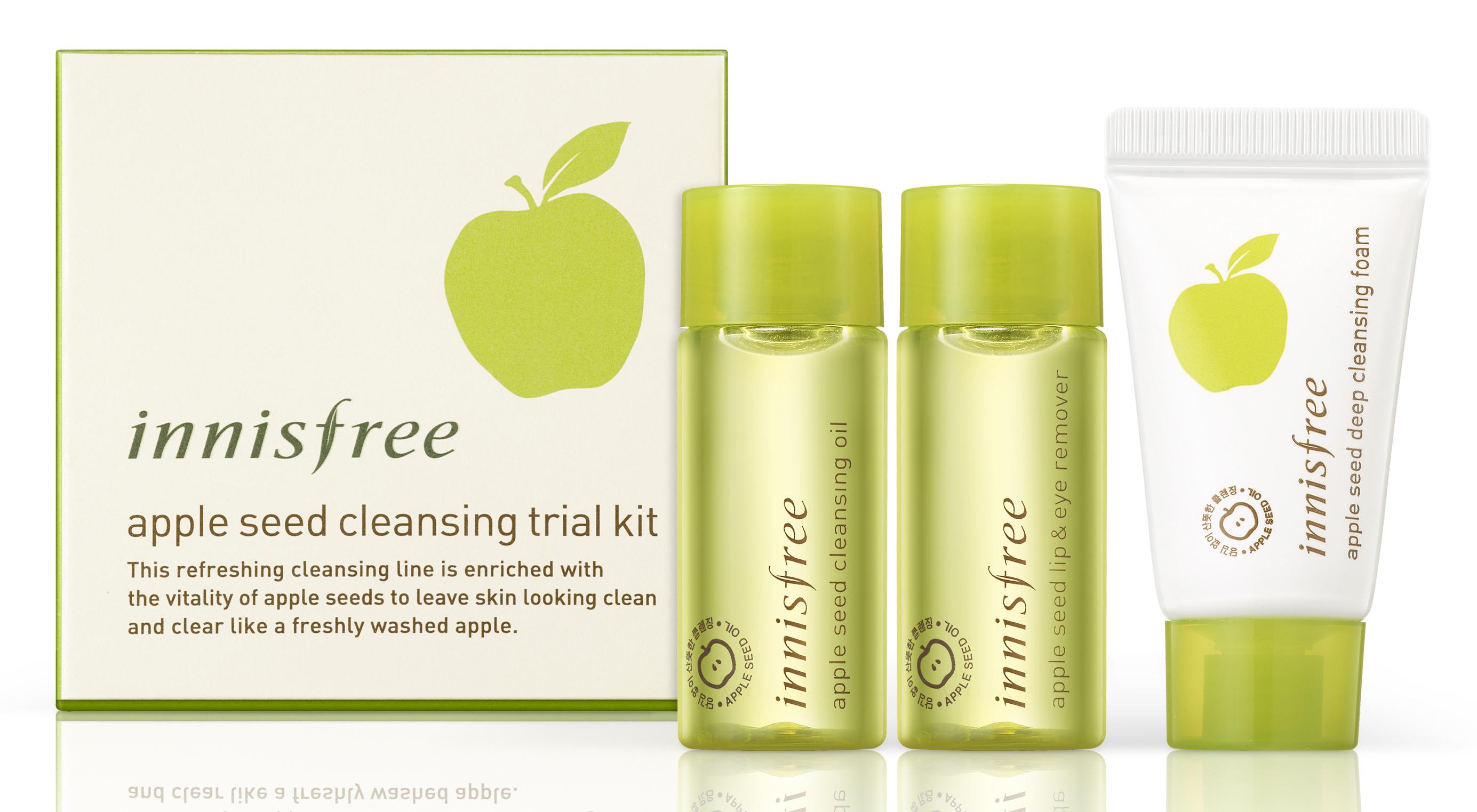 [27080-7066] Apple Seed Cleansing 3ea kit★