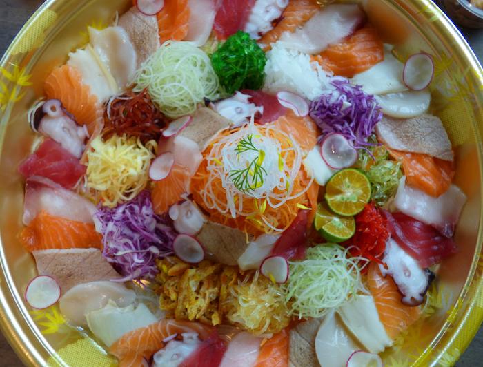 FiSK Seafoodbar & Market - Fortune Yu Sheng Platter