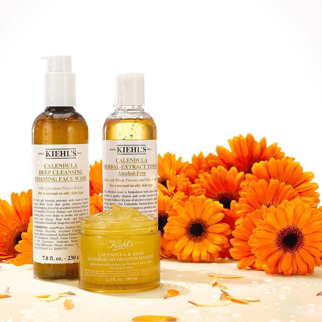 �ล�าร���หารู��า�สำหรั� Kiehl's Calendula Herbal Extract Alcohol-Free Toner