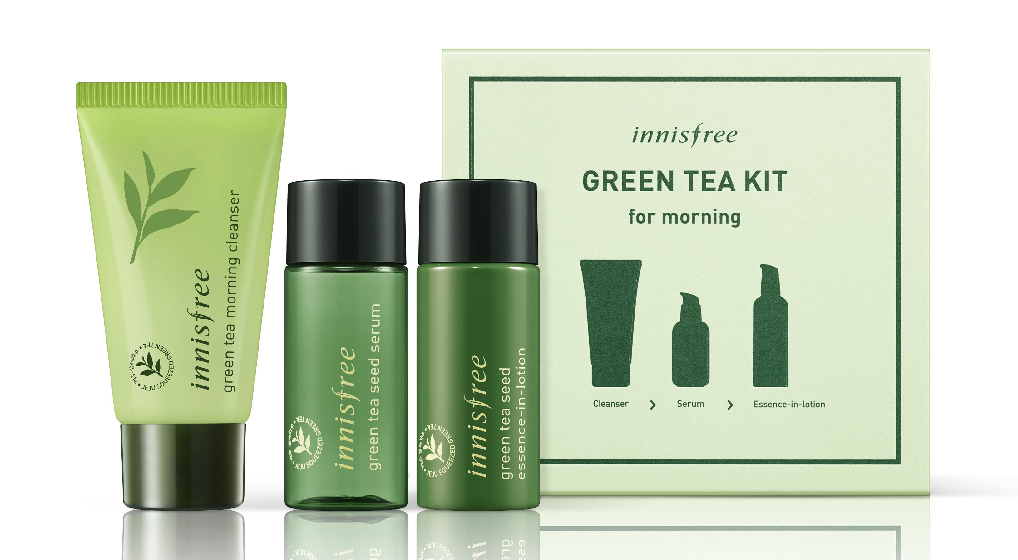 [27089-7030] IF.(Global) Green Tea Morning Kit (S)_
