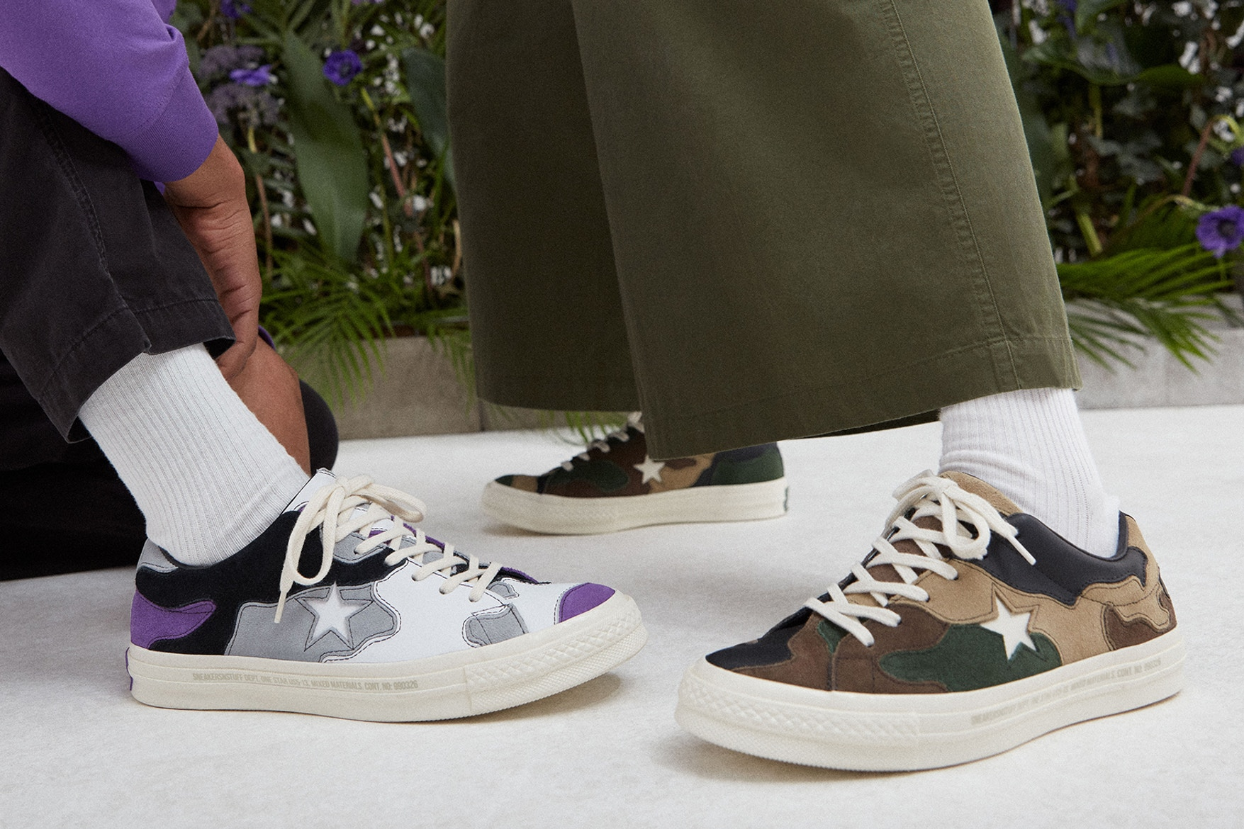 7974f1b5b7535 These Camo One Stars By Converse and Sneakersnstuff Were Made To ...