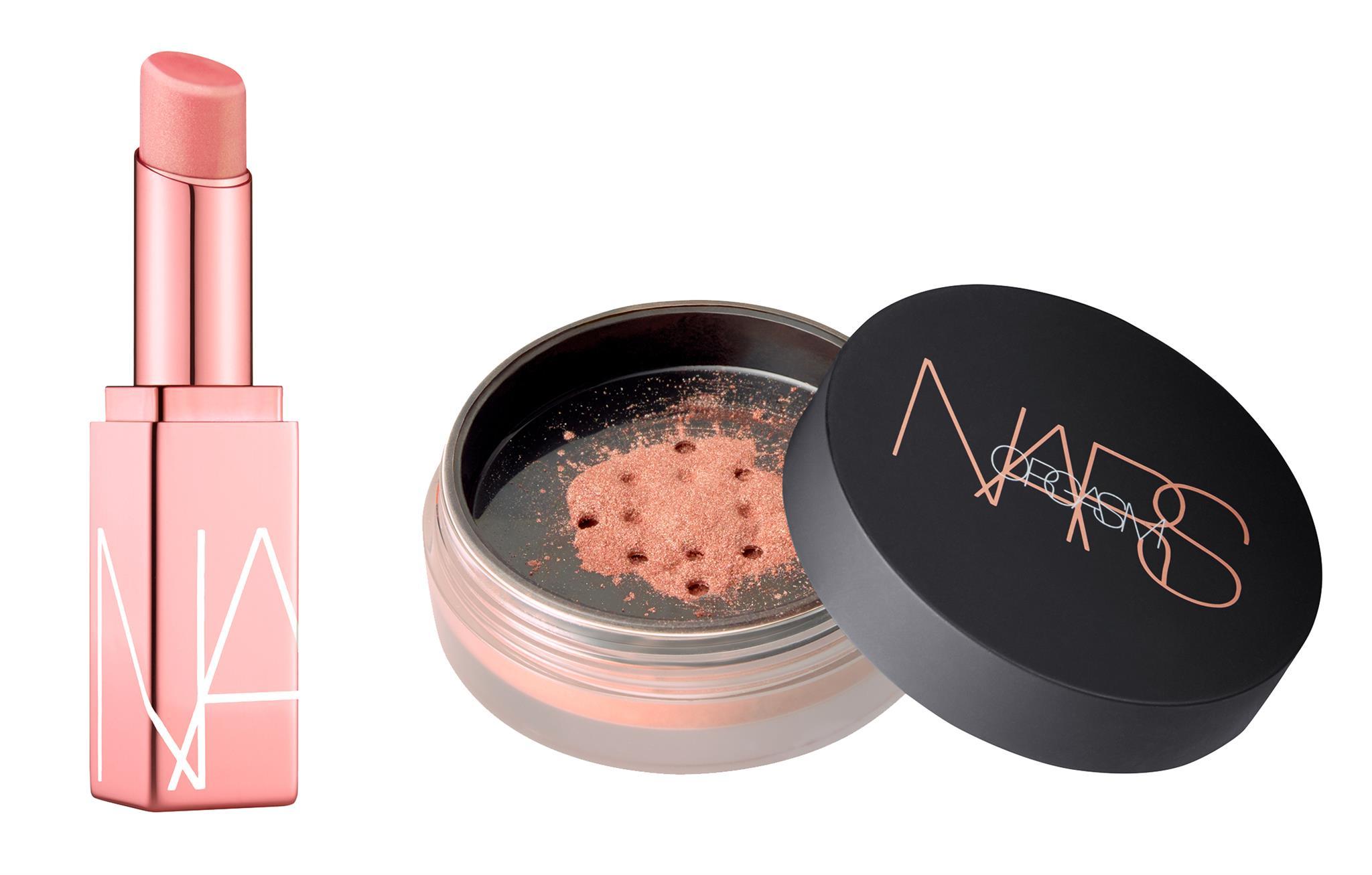 NARS-lipbalm-loosepowder