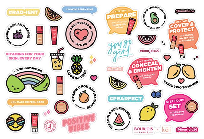 kai stickers