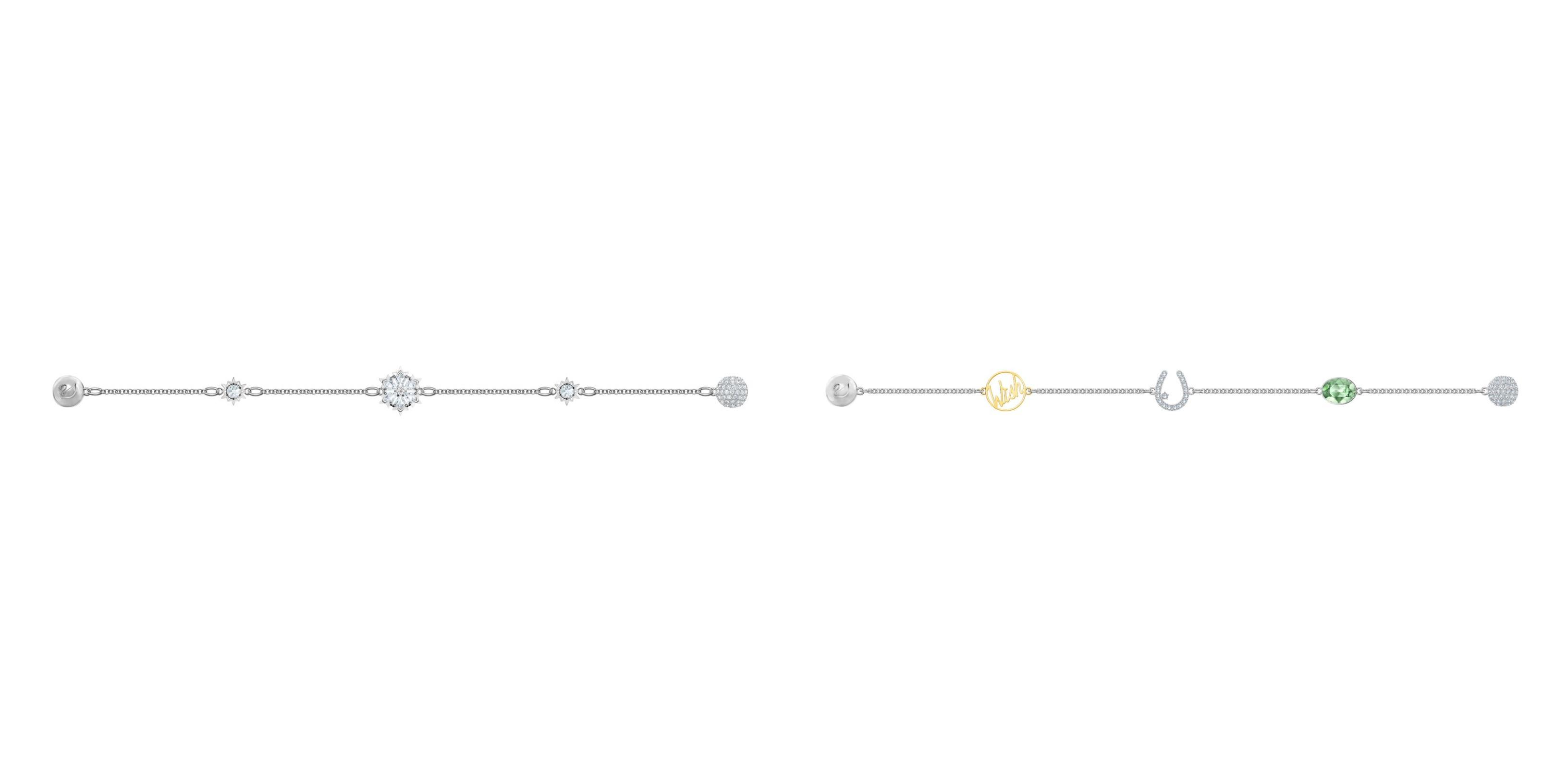 e325f7b24504 Left to right  Swarovski Remix Collection Strand Snowflake ( 149)