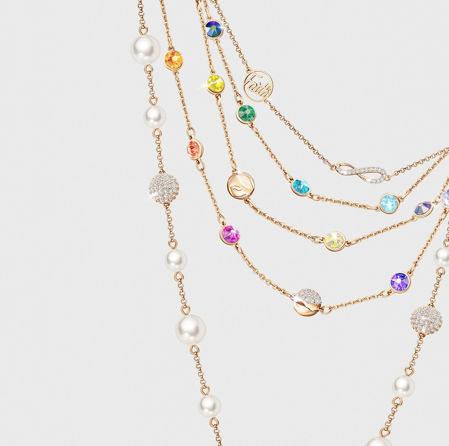 64d7610a2701 The Swarovski Remix collection boasts a huge variety of customisable  strands that can be combined to create bracelets