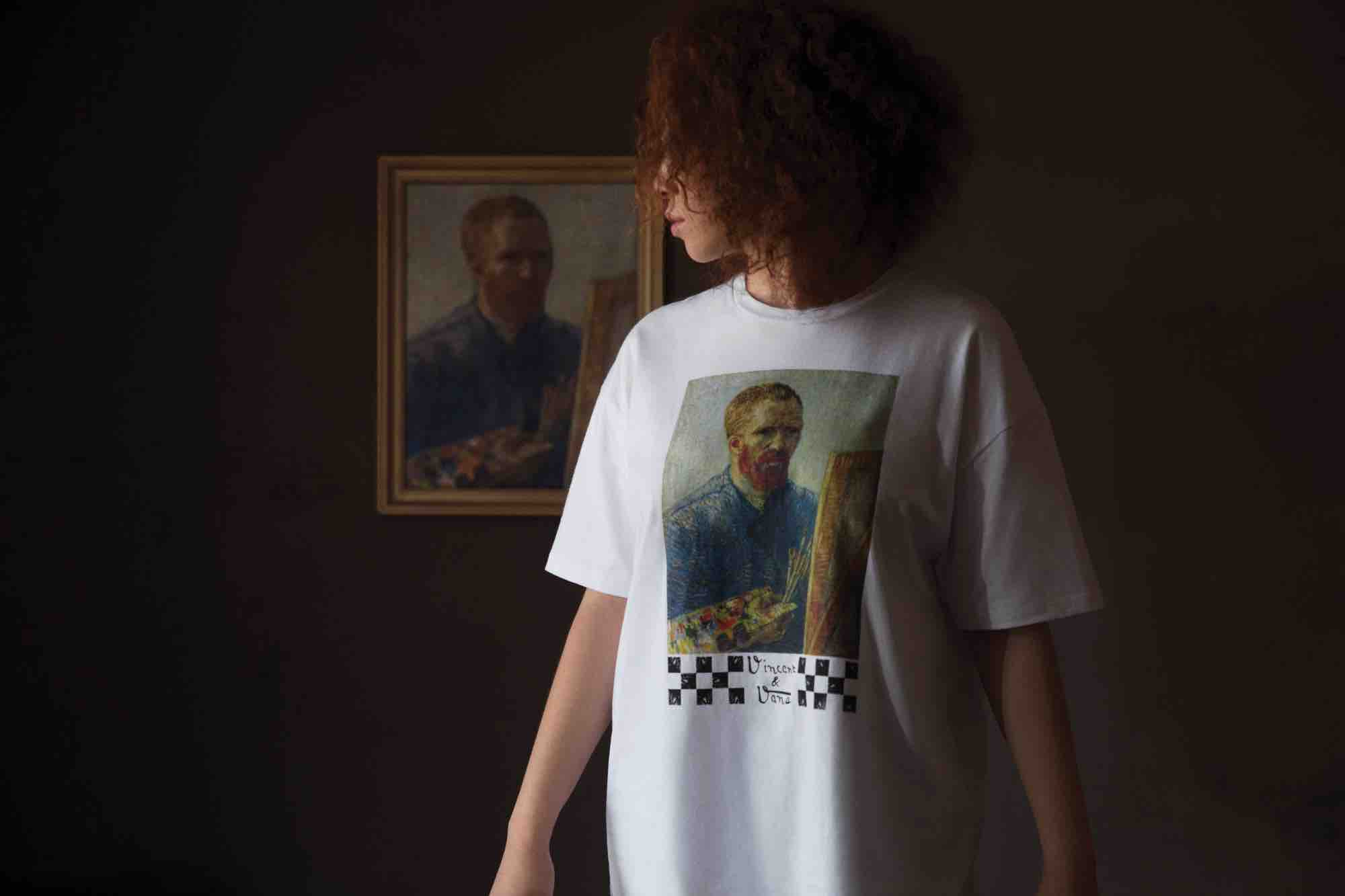 Van Gogh self portrait shirt