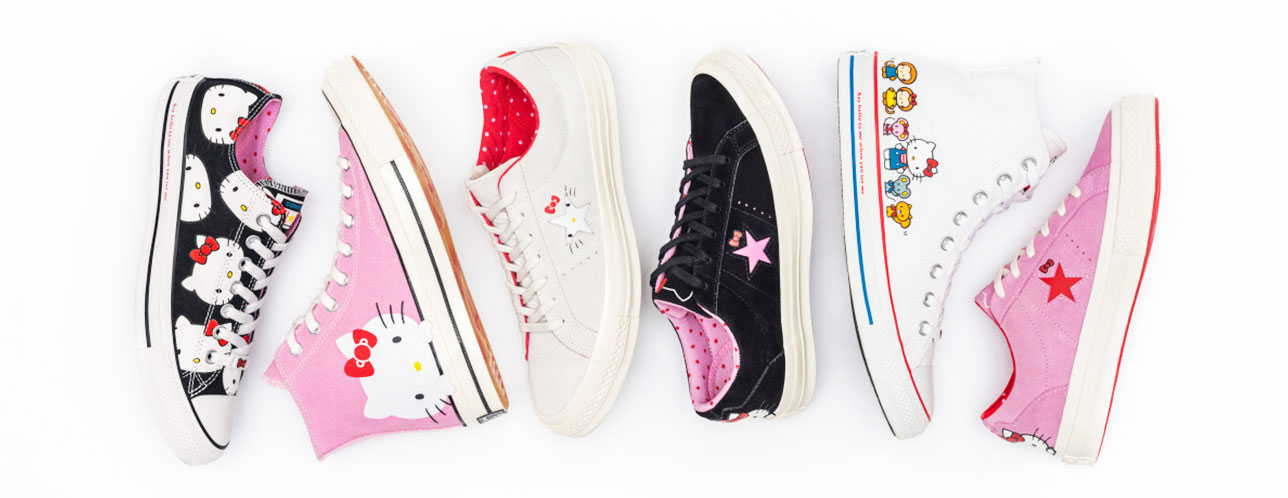 424c253c3e6a The Latest Sneaker Collection All Hello Kitty Fans Should Cop
