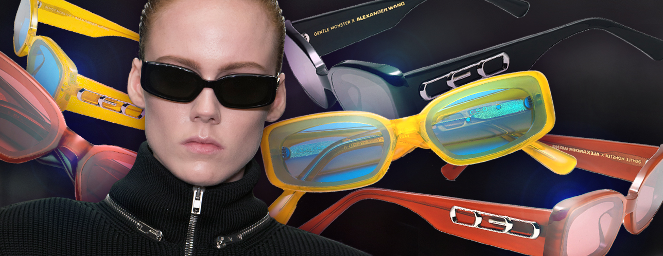 "c5821ba9a2 ""Boss"" Takes On A New Look In Gentle Monster x Alexander Wang s Eyewear  Collection"