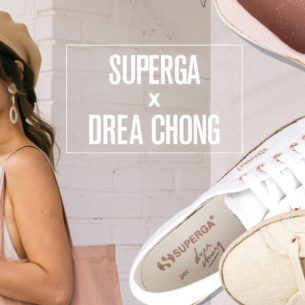 We Want A Pair Of Shoes From The SUPERGA x Drea Chong Collaboration!