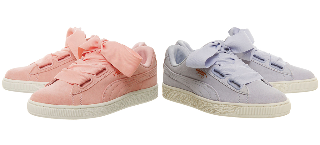 The PUMA Suede Heart Gets Draped in Two New Pastel Colourways ... 4e550315d958