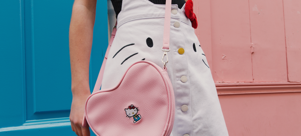 12ed194f3769 You ve probably seen the Lazy Oaf x Hello Kitty capsule collection all over  Instagram and scrolled through your feed in envy while stabbing your heart  at ...