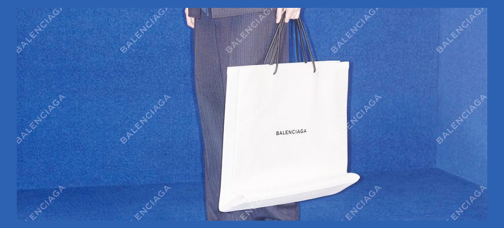 cbcf7e5375 Balenciaga s Shopping Bag Is Their Most Absurd Design Thus Far