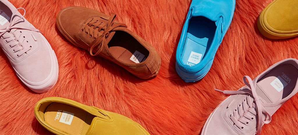 "032bdf040b8ba The New Vans x Opening Ceremony ""Oh Sooo Suede"" Pack Is Pretty Darn Sweet  Indeed"
