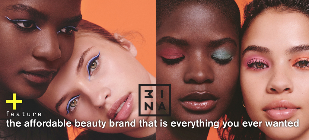 da3730ed8cc The latest beauty brand on the block, 3INA, is something that you want to  get in on. The British brand, which is pronounced MEE-NAH, has finally  landed in ...