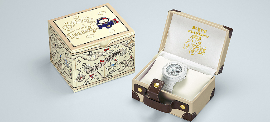 Casio Launches Limited Edition Hello Kitty Baby G Travel Watch