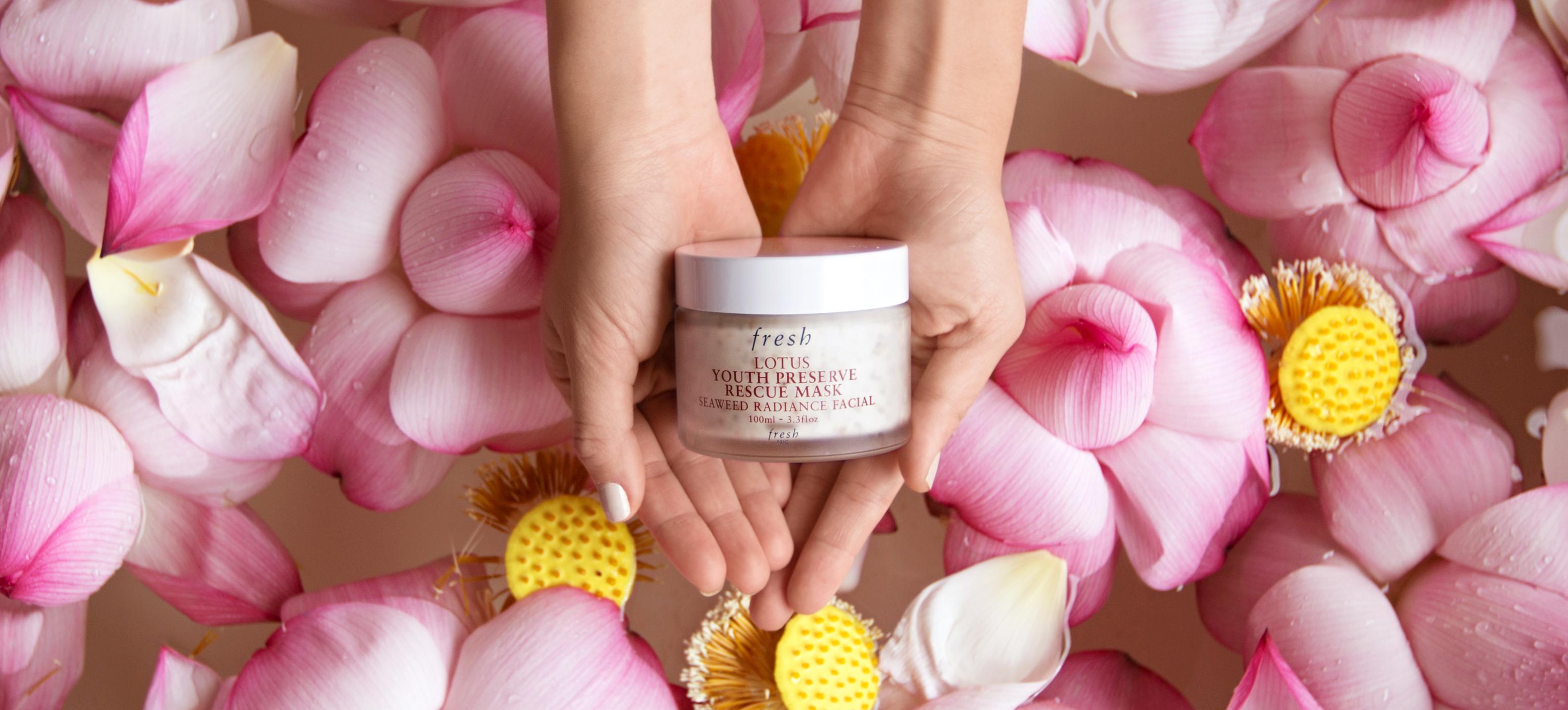Our Take On Freshs Lotus 5 Minute Facial In A Jar Mask Nylon