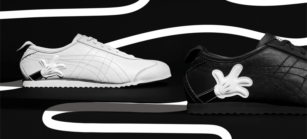 online retailer a50d6 aa247 Mickey and Minnie Are On The Newest Onitsuka Tiger Sneakers ...