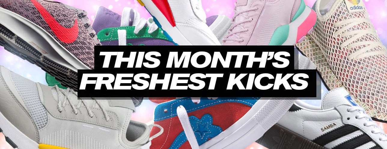 The Latest Sneaker Releases in June