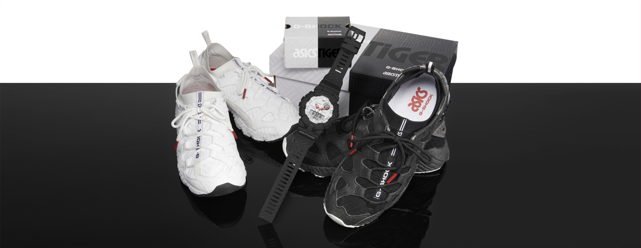 énorme réduction 5ae00 5f54e First Look: ASICS And G-Shock Come Together For A Limited ...