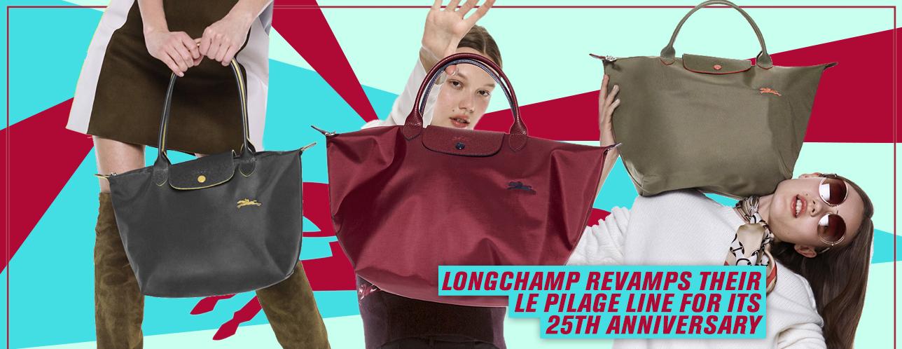 e79c1c2067 Longchamp Celebrates 25 Years of The Le Pliage Line