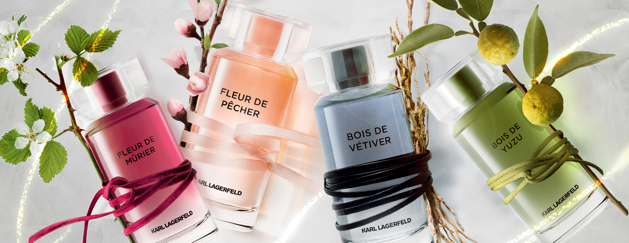 Find Your Signature Scent In Karl Lagerfeld's Les Parfums Matières  Collection
