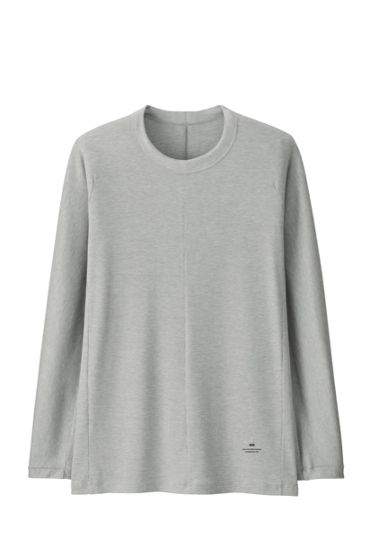 AW HEATTECH Ribbed Crew Neck T $29.90