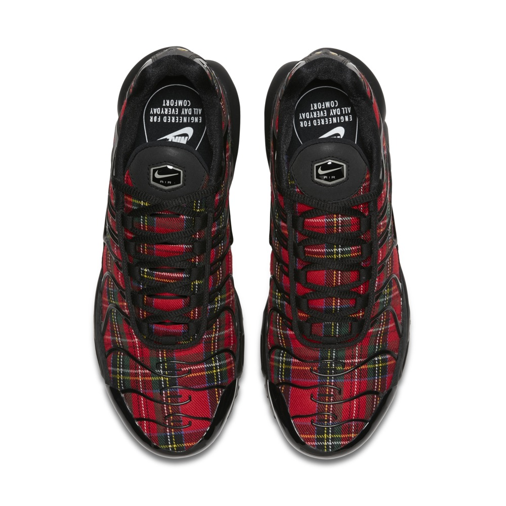 """Nike Women Air Max """"Tartan"""" Pack / Available in-store only / Price: SGD219 (Air Max 1), SGD249 (Air Max Plus), SGD259 (Air Max 97)"""