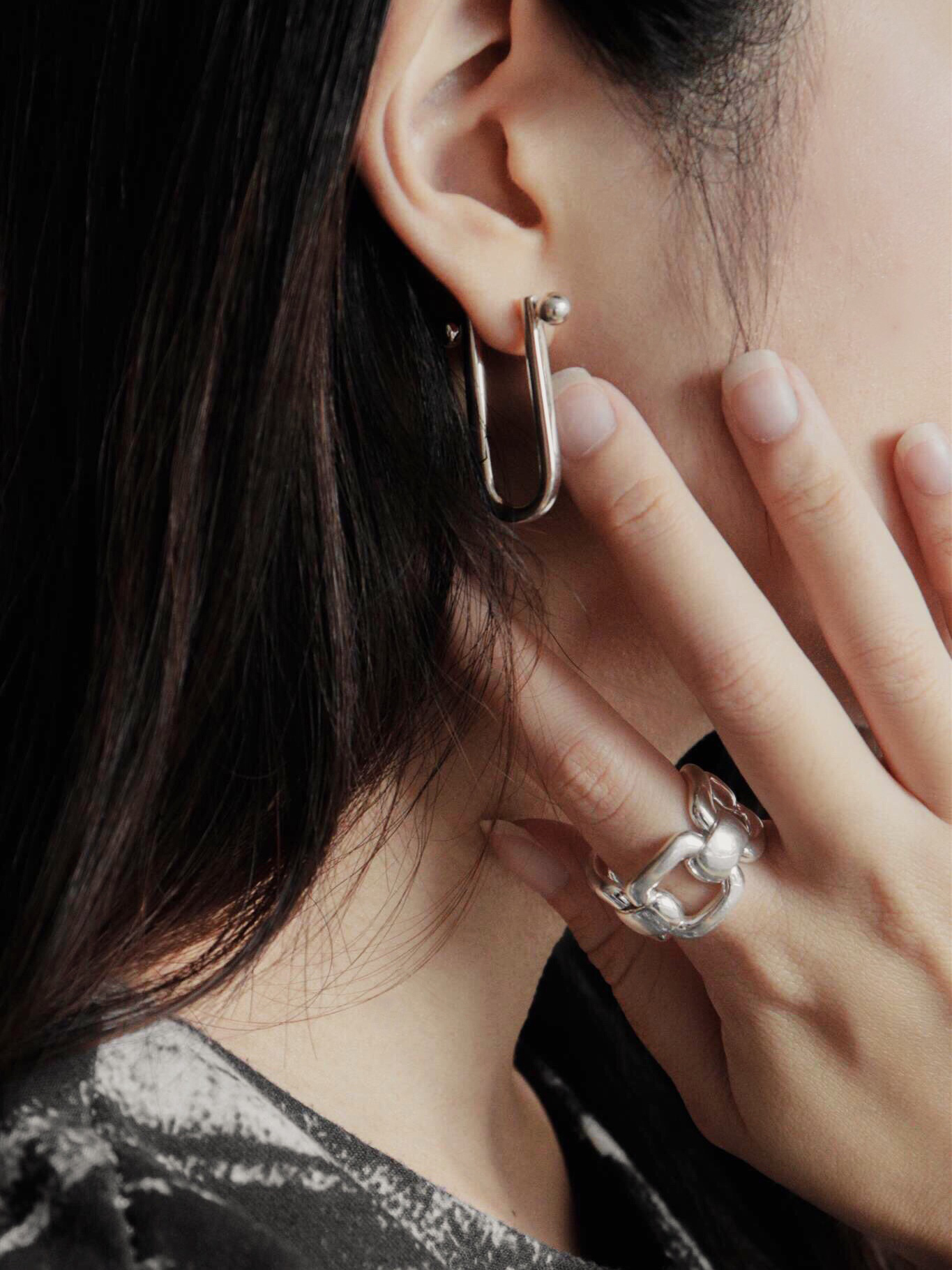 Sterling SilverGlam & Soul Ring, $549 ; Sterling SilverGlam & Soul Earrings