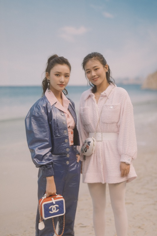 JELLY LIN & SANDRA MA, Chanel Spring Summer 2019 Ready to Wear Collection