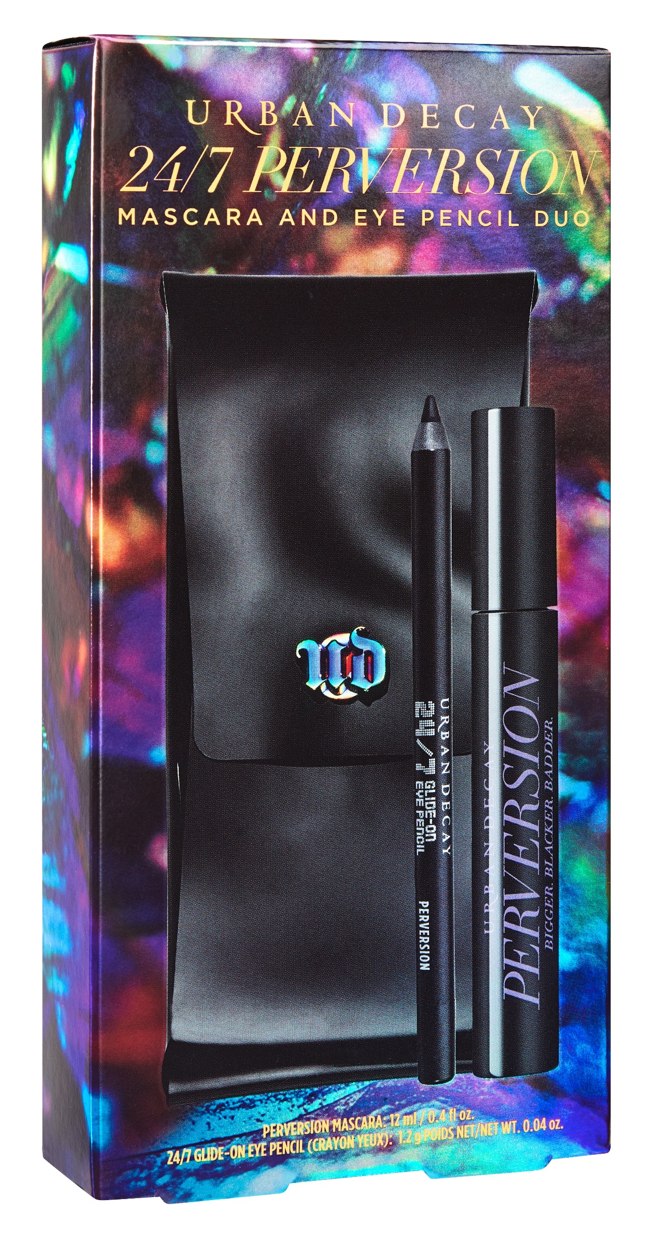 24/7 Perversion Mascara and Eye Pencil Duo ($49): Full sized versions of the brand's iconic 24/7 Perversion Pencil and Mascara. And all in black (which is really the only colour you need).