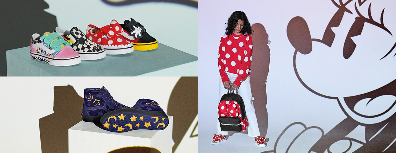 5159b3ced80d Vans Is Also Releasing A Mickey And Minnie Collection For The Street Kids
