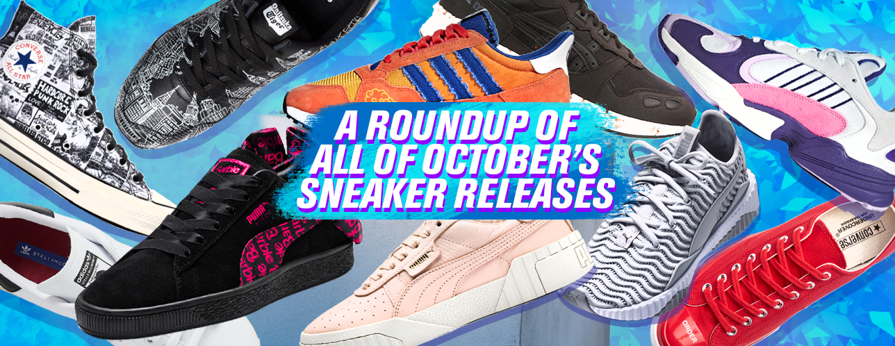 85a77902fad October Sneaker Roundup  Footwear Frenzy With These Funky New Designs