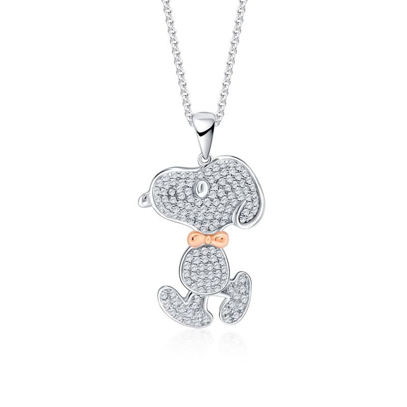 Diamante Snoopy Pendant (S$499)