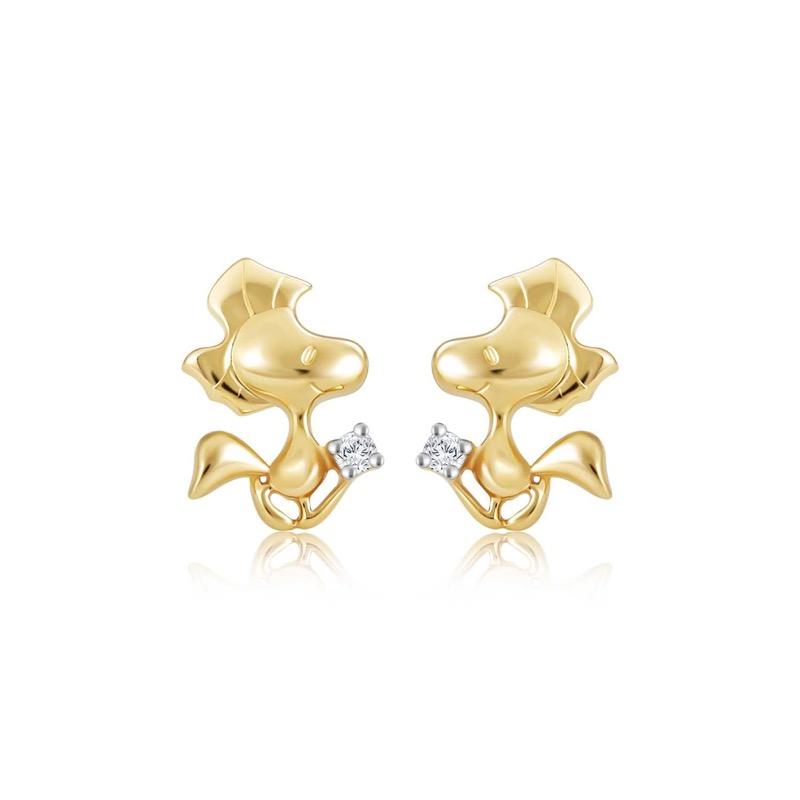 Woodstock Diamond Earrings (S$239)