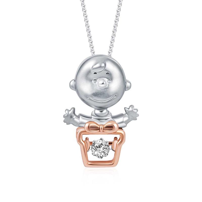 Charlie Brown Greatest Gift Diamond Pendant (S$499)